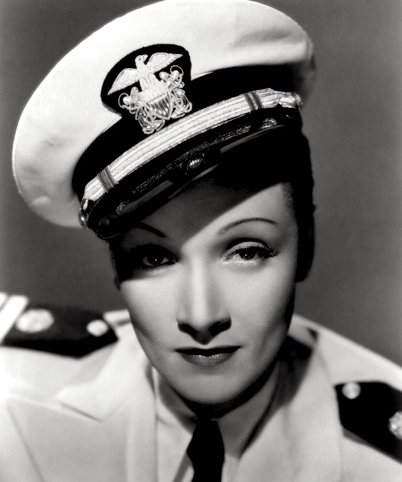 Marlene Dietrich Uniform