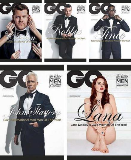 GQ cover women in media
